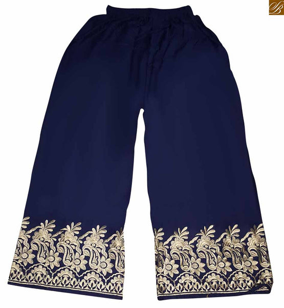 STYLISH AND TRENDY PLAZZO IN SOFT MALAYI COTTON IN ELASTIC WAIST SKPLBL