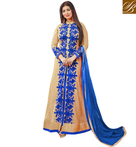STYLISH BAZAAR NEW LOOK OF AYESHA TAKIA IN LATEST SALWAR SUITS ONLINE SHOPPING INDIAN SALWAR SUIT PATTERNS FOR WOMEN SLAR12053