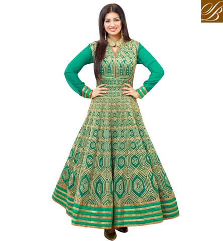 STYLISH BAZAAR AYESHA TAKIA ANARKALI SUITS ONLINE LONG SLEEVE DRESSES INDIAN SALWAR SUIT ANARKALI PUNJABI SUIT FOR GIRLS COLLECTION SLAR12057