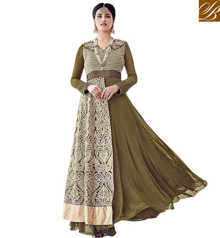 STYLISH BAZAAR FASCINATING EMBROIDERED DESIGNER SALWAR SUIT SET ONLINE SHOPPING INDIA SALWAR KAMEEZ FOR WOMEN IN INDIAN CHURIDARS SLAR16006