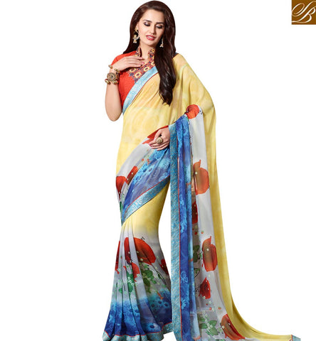 Casual Sarees | Saree Blouse Designs | Latest Designer Blouses Indian Sarees Online Shopping