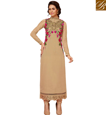 STYLISH BAZAAR AMIABLE COLLAR NECK EMBROIDERED SALWAAR SUIT DESIGN LATEST DESIGNER SUITS ONLINE FOR WOMEN IN INDIA SLMHK22001