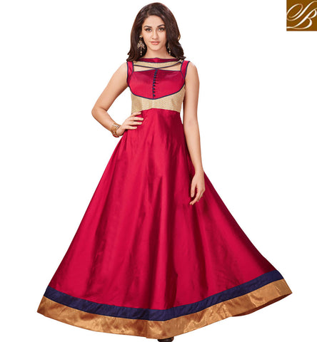 STYLISH BAZAAR INDIAN DESIGNER RED BOLLYWOOD KURTIS ONLINE FOR WOMEN PROM STYLE DESIGNS OF INDIAN FASHION TUNICS VDARP20296