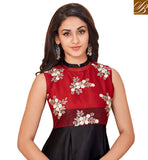 STYLISH BAZAAR INTRODUCES AMAZING BLACK AND RED INDO WESTERN KURTA FOR WOMEN IN INDIA UNIQUE DESIGNER KURTIS STYLE INDIAN COLLECTION VDARP20299