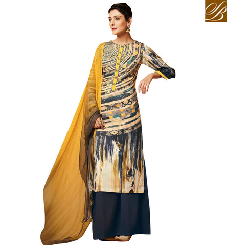 STYLISH BAZAAR MAGNIFICENT SALWAR KAMEEZ PLAZO STYLE CHURIDDAR SUIT ONLINE SHOPPING INDIA FOR WOMEN VDDHR20198