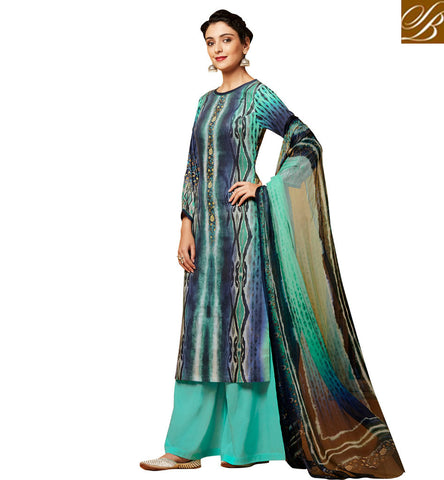 STYLISH BAZAAR WONDERFUL SALWAR SUIT IN INDIAN PLAZZO PANT PATTERNS FOR WOMEN AND GIRLS IN ONLINE SHOPPING AT AFFORDABLE PRICE VDDHR20199