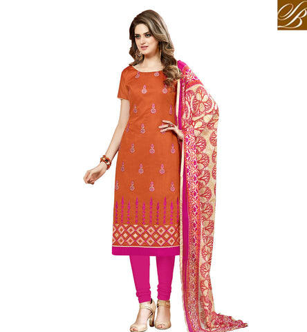 STYLISH BAZAAR LATEST MUSTARD COTTON STRAIGHT CUT SALWAR SUIT STYLISH BAZAAR SALWAR KAMEEZ FOR WOMEN IN ONLINE SHOPPING VDHAY20362