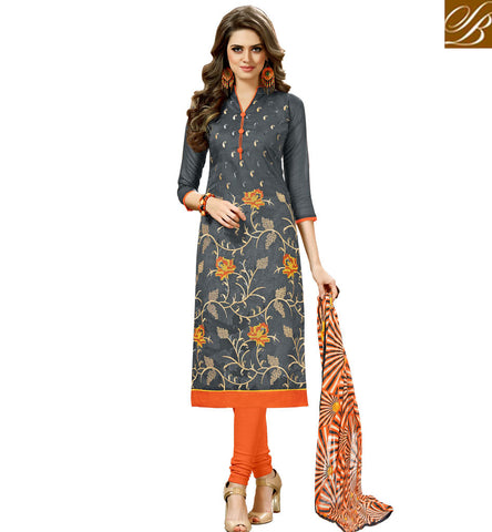 STYLISH BAZAAR BEAUTIFUL BLUE PUNJABI SALWAAR KAMEEZ LATEST COTTON SUMMER WEAR SALWAR KAMEEZ DESIGN FOR GIRLS ONLINE VDHAY20364