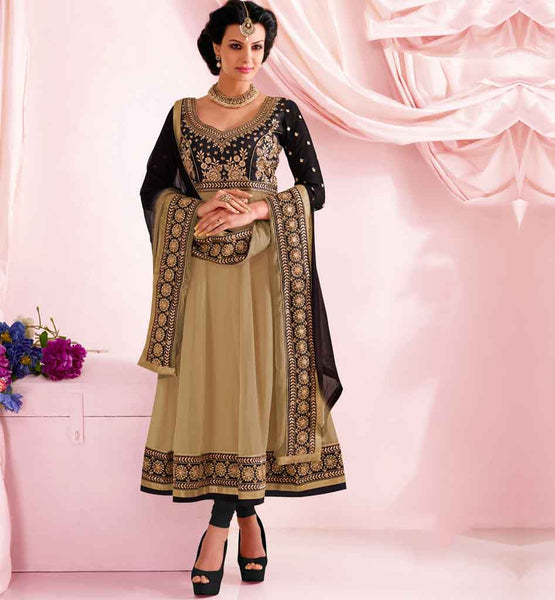 PURE GEORGETTE PARTY WEAR ANARKALI