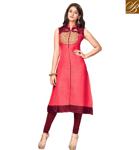 STYLISH BAZAAR STYLISH DESIGNER CHENNAI SILK KURTI PATTERN KURTI AND INDIAN TUNIC COLLECTION FOR WOMEN ONLINE SHOPPING VDNAS20262