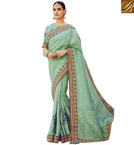 STYLISH BAZAAR BRILLIANTLY DESIGNED SOFT SILK WEDDING WEAR SARI ONLINE STYLISH BAZAAR HALF SILK SAREE SHOPPING FOR WOMEN VDNEY20419