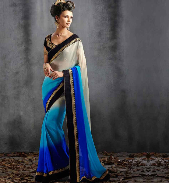 DESIGNER PARTY WEAR SAREE VDPAR30002