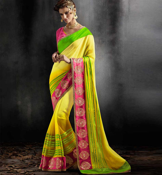 DESIGNER PARTY WEAR SAREE VDPAR30006