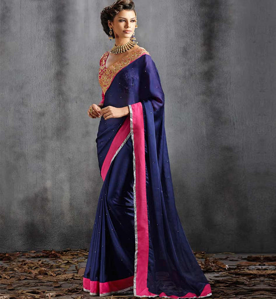 DESIGNER PARTY WEAR SAREE VDPAR30009