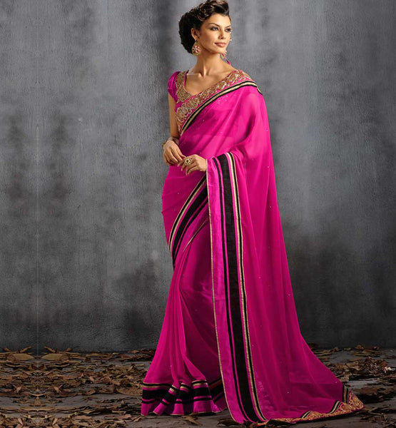 DESIGNER PARTY WEAR SAREE VDPAR30014