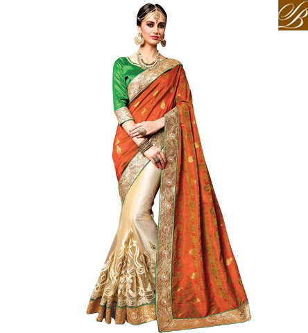 STYLISH BAZAAR INTRODUCES BUY DAZZLING SILK SAREES ONLINE SHOPPING INDIA LOW PRICE BEST SAREE COLLECTION OF BRIDAL SAREES VDPKH20178