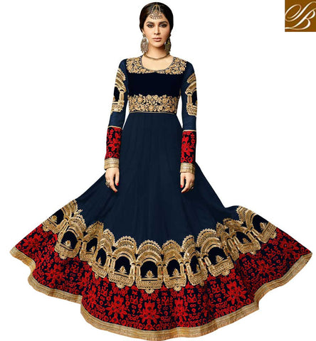 STYLISH BAZAAR BUY RADIANT ONLINE ANARKALI SUIT DESIGNER LADIES SUITS ON SALE STYLISH BAZAAR SALWAR KAMEEZ WOMEN DESIGN VDSKN3994