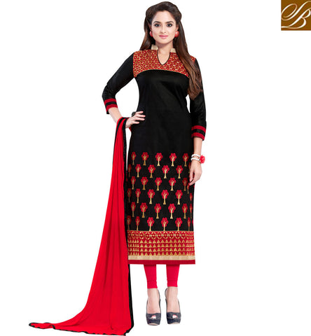 STYLISH BAZAAR STAR PLUS SERIAL ACTRESS ASMITA SOOD'S ENTHRALLING SALWAR SUIT SETS SALWARS DESIGNS IN BLACK VDSZY19984