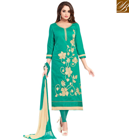 STYLISH BAZAAR PHIR BHI NA MAANE BADTAMEEZ DIL HEROINE  ASMITA SOOD IN EXQUISITE COTTON SALWAR KAMEEZ SUIT FOR WOMEN ONLINE AT AFFORDABLE PRICE VDSZY19986