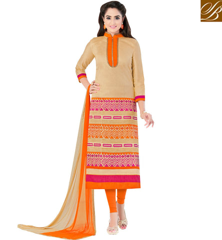 STYLISH BAZAAR MARGO CLEAR SKIN SOAP GIRL ASHMITA SOOD IN GRACEFUL COTTON ONLINE DESIGNER SALWAR SUITS INDIA VDSZY19989