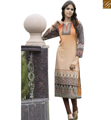 STYLISH BAZAAR MULTICOLOUR GEORGETTE WELL DESIGNED DESIGNER KURTI YSSPG1707