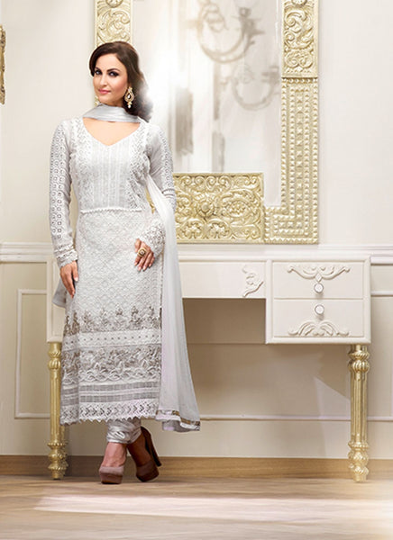 DESIGNER GEORGETTE LONG DRESS ZBRS10603