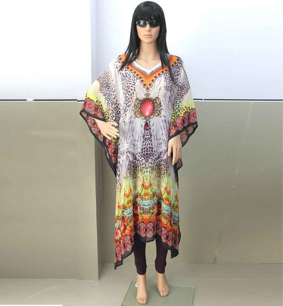 LATEST MOROCCAN LOOK DIGITAL PRINT KAFTANS FOR SALE ONLINE IN INDIA