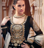kimora 501 RAJWADI BLACK WEDDING WEAR DRESS KMV5501