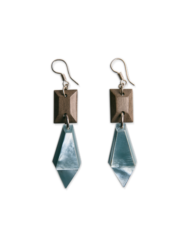 Shelly Earrings (Sky)