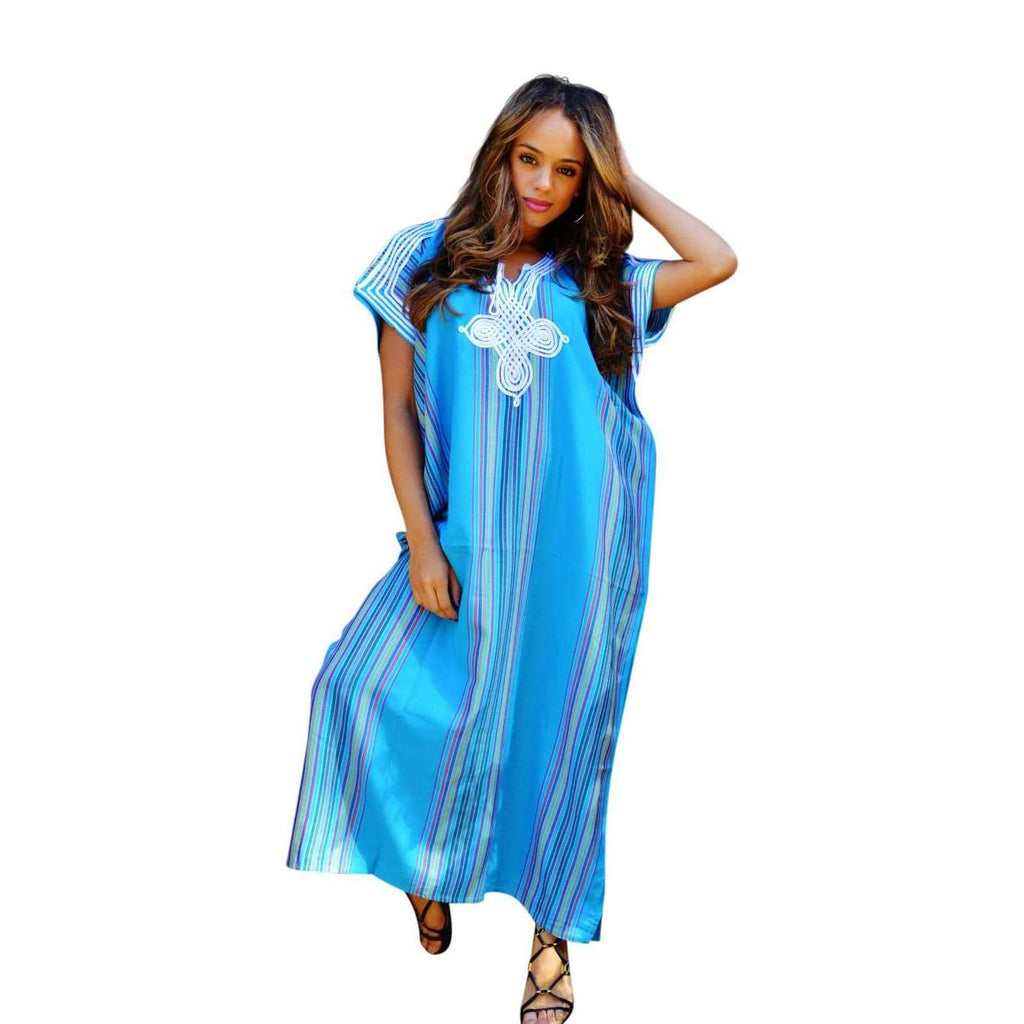Bridesmaid Gifts Beach Wedding: Beach Wedding Kaftans- Bridesmaids Caftan Kaftan Turquoise