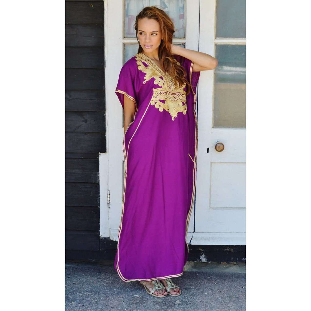 Lounge kaftan - Royal Purple Marrakech Resort Lounge-Purple Moroccan ...