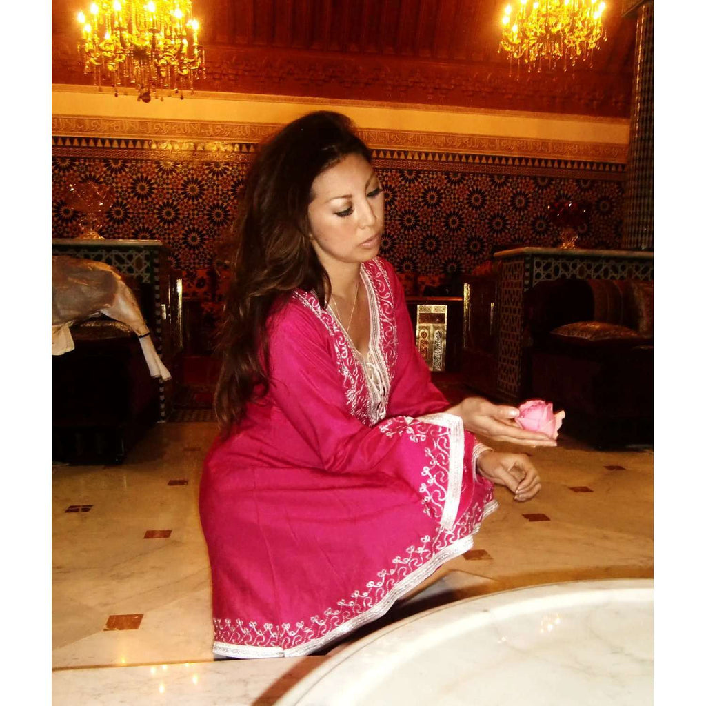 Pink Traditional Marrakech Tunic,Pink Traditional Marrakech Tunic