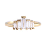 Baguette Engagement Ring - Art Deco Engagement Ring - 0.5 Carat
