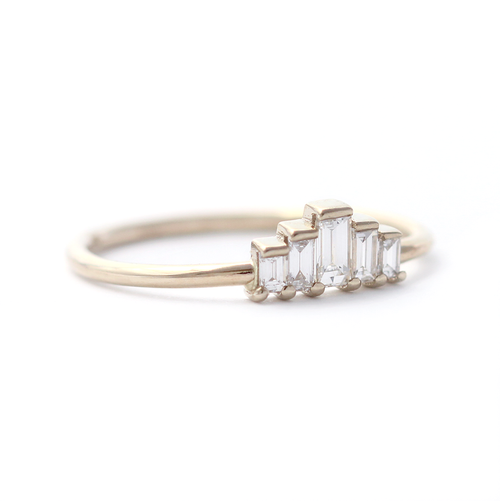 Delicate Alternative Engagement Rings And Wedding Sets