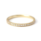 Classic Diamond Eternity Ring - Micro Pave Diamond Ring