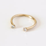Dual Diamond Ring - Medium