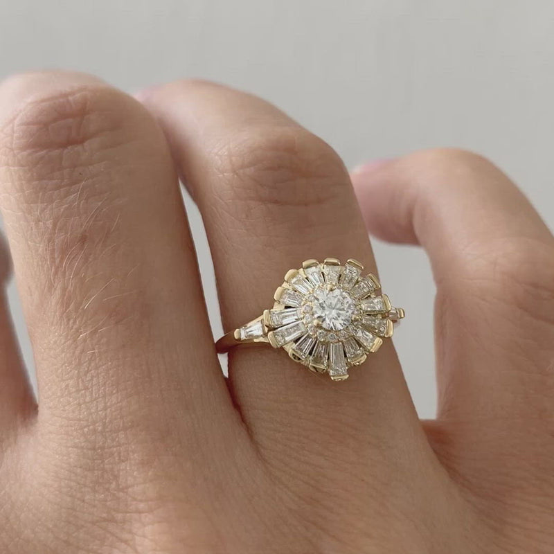 Halo-Ring-with-Baguette-Diamond-Frills-Asymmetric-Halo-Engagement-Ring-move