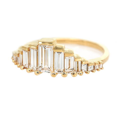 Baguette Cut Diamond Ring