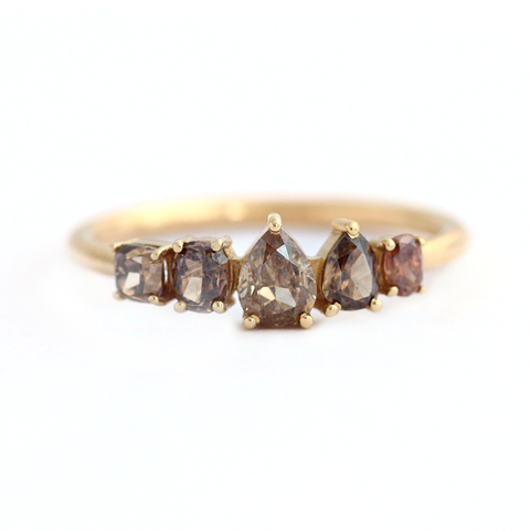 radiant diamond brown yellow jewelry fancy stone index halo cut loose lively ring e rings