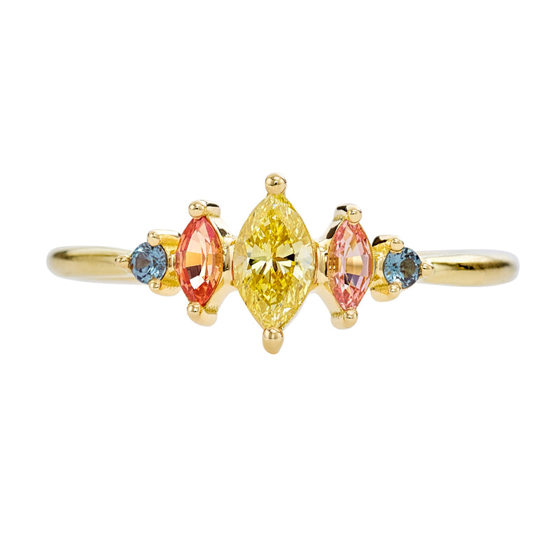 Candy-Colored-Engagement-Ring-with-a-Fancy-Yellow-Diamond-OOAK-closeup