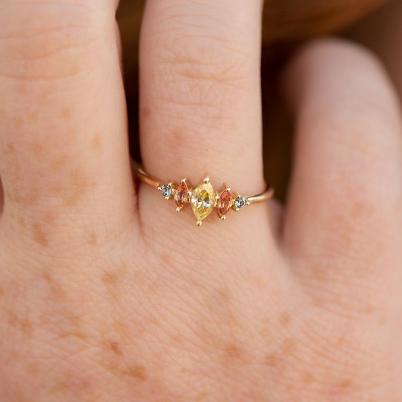Candy-Colored-Engagement-Ring-with-a-Fancy-Yellow-Diamond-OOAK-freckles