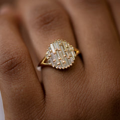 Cluster-Ring-with-Assemblage-of-Needle-Baguette-Diamonds-the-Light-Catcher-Ring-top-shot