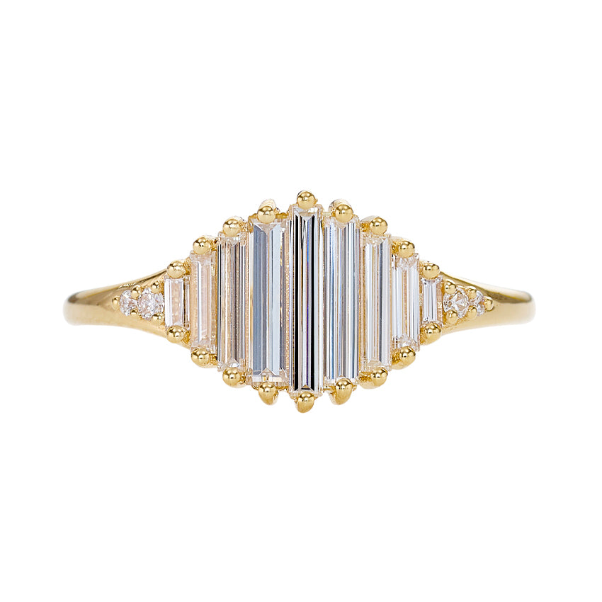 Deco-Engagement-Ring-with-Needle-Baguette-Diamonds-Pond-of-Light-Ring-closeup