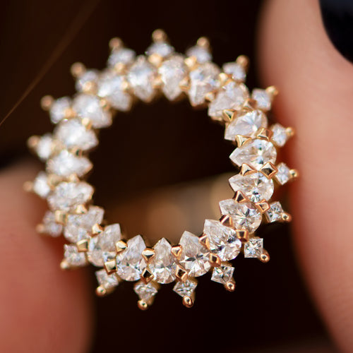 Diamond-Lace-Ring-with-Cluster-of-Pear-and-Princess-Cut-Diamonds-top-shot