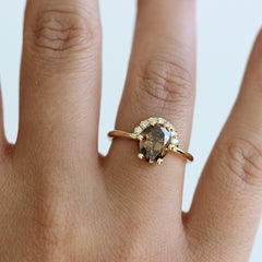 Diamanten Krone Ring