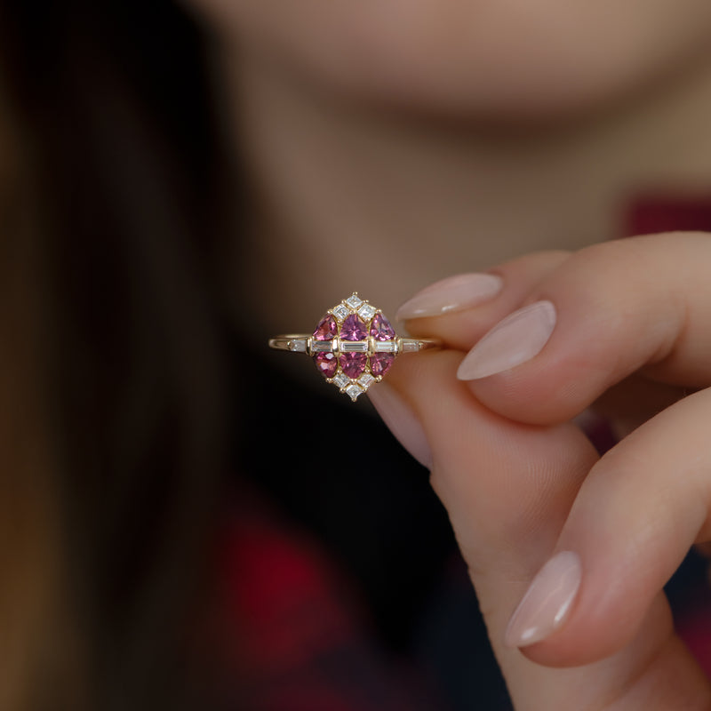 Garnet-and-Diamond-Cluster-Engagement-Ring-top-shot