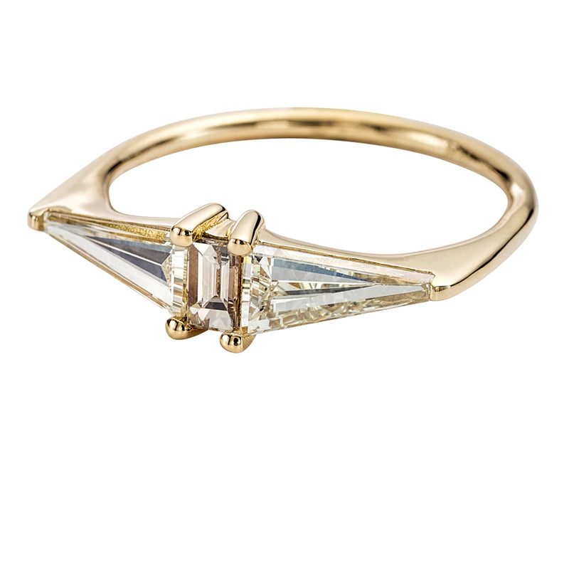 Geometric-Engagement-Ring-with-OOAK-Arrow-Diamonds-side-closeup
