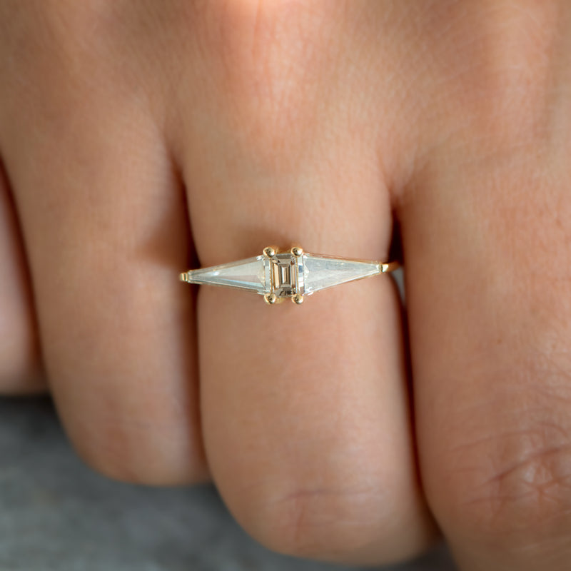 Geometric-Engagement-Ring-with-OOAK-Arrow-Diamonds-sparking