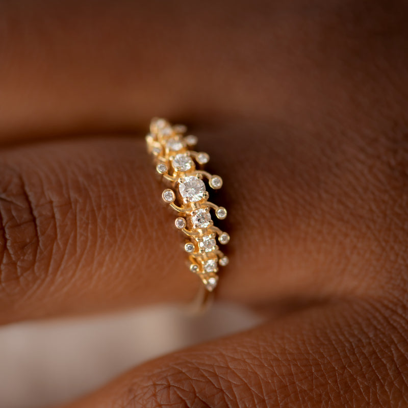 Gold-Orbit-Ring-with-Brilliant-Cut-White-Diamonds-shiny