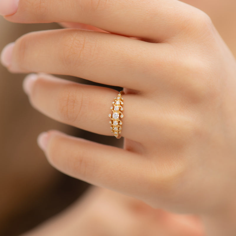 Gold-Orbit-Ring-with-Brilliant-Cut-White-Diamonds-top-shot